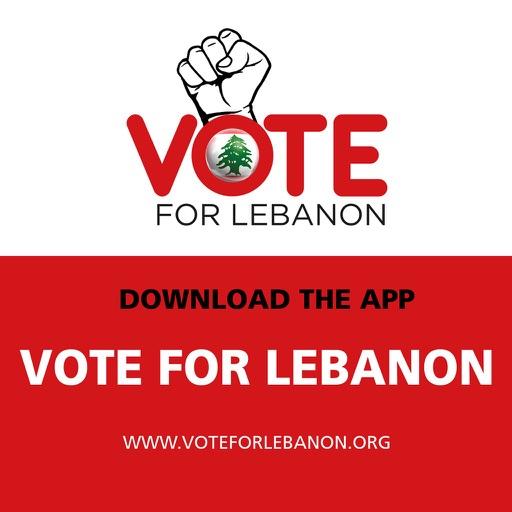 Vote For Lebanon icon
