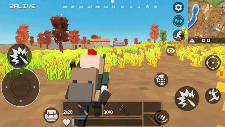 Wild battle lands screenshot-6