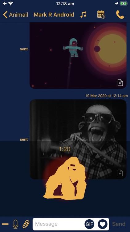 Animail Messenger screenshot-3