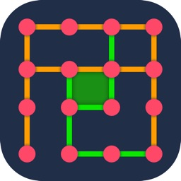 Dots & Boxes -Retro board game
