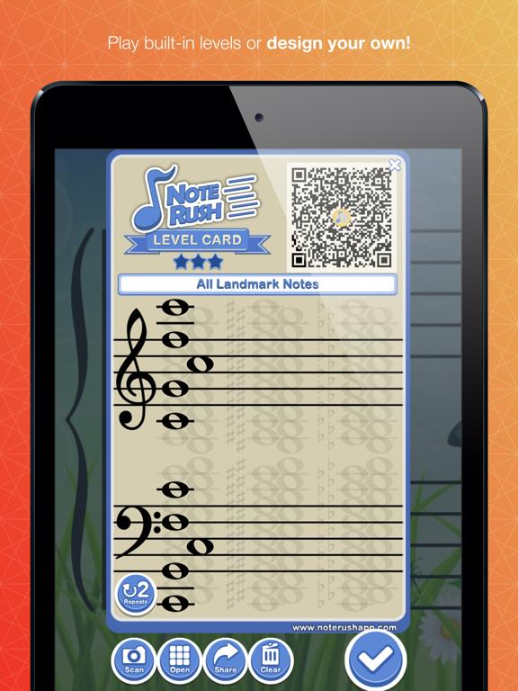 Note Rush: Music Reading Gameのおすすめ画像2