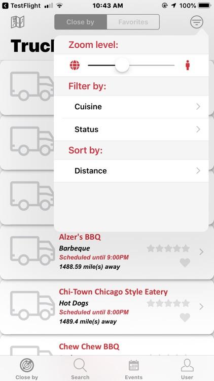 mFood™ - Food Truck Finder App screenshot-5