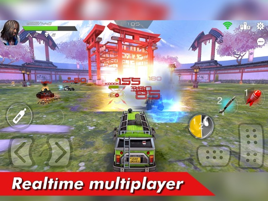 Overload: Car Shooting Racing screenshot 6