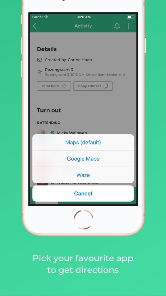 Erbij - your shared calendar App for iPhone - Free Download