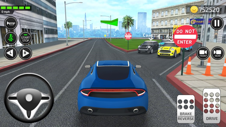 Driving Academy 2020 Simulator screenshot-4