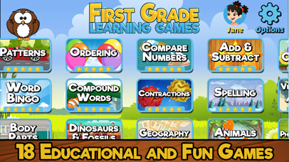 First Grade Learning Games-0