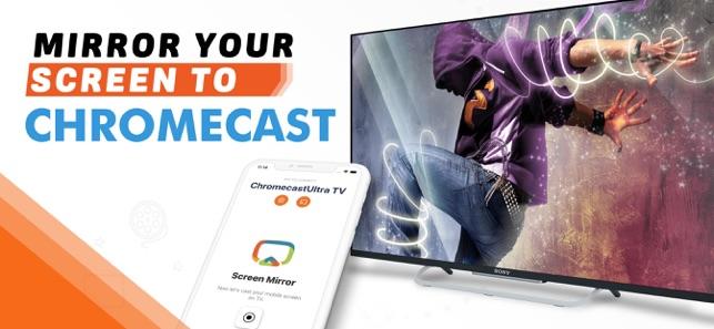 Mirroring for Chromecast TV