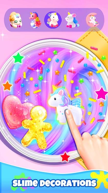 Girl Games: Unicorn Slime screenshot-3