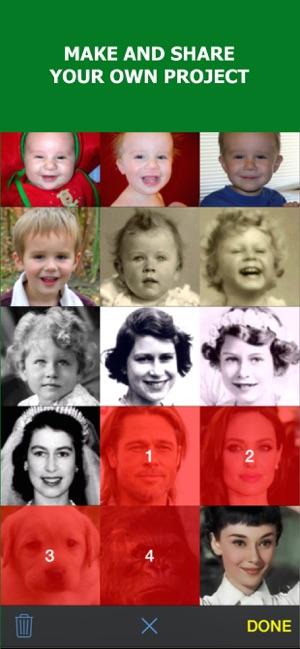 MORPH: Face Story & Face Aging Screenshot