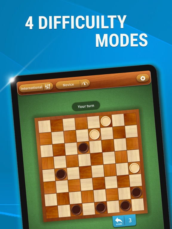 iPad Image of Checkers - Best Draughts Game
