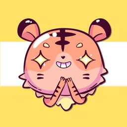 Tiger Meow Stickers