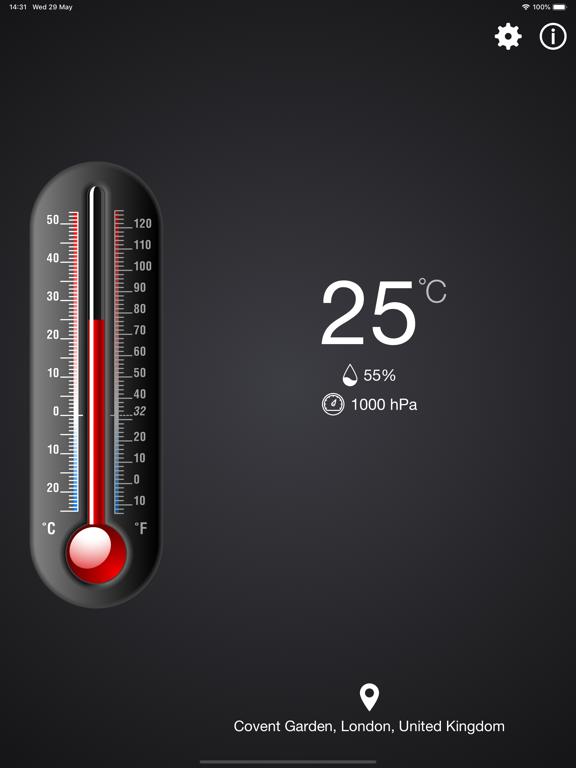 温度計++のおすすめ画像1