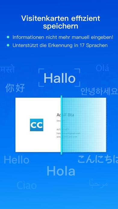 CamCard -Business Card ScannerScreenshot von 1