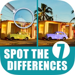 Find 7 differences puzzle game