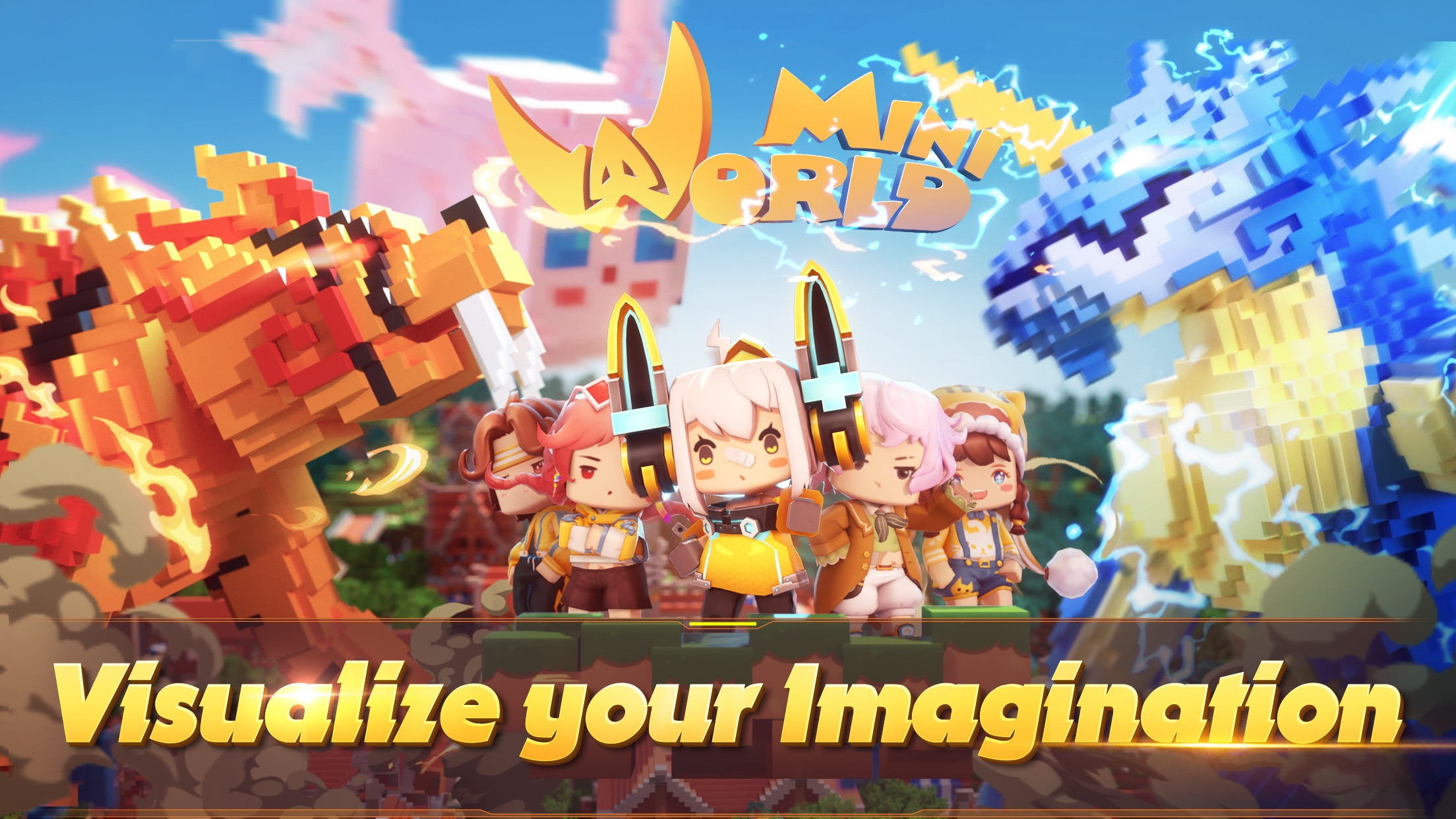 Mini World Block Art Screenshot