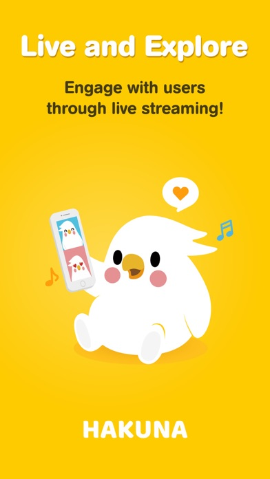 Hakuna: Live Streaming Screenshot