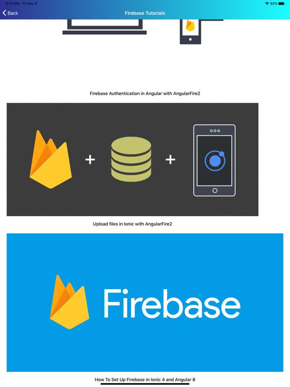 Learn Firebase [PRO] screenshot 13