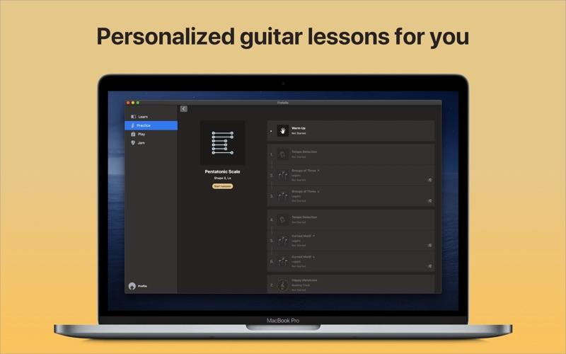 Fretello - Guitar Lessons for Mac