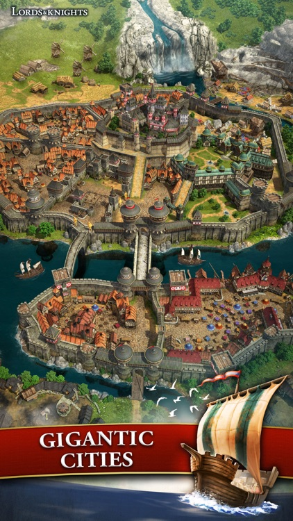 Lords & Knights - Medieval MMO screenshot-4