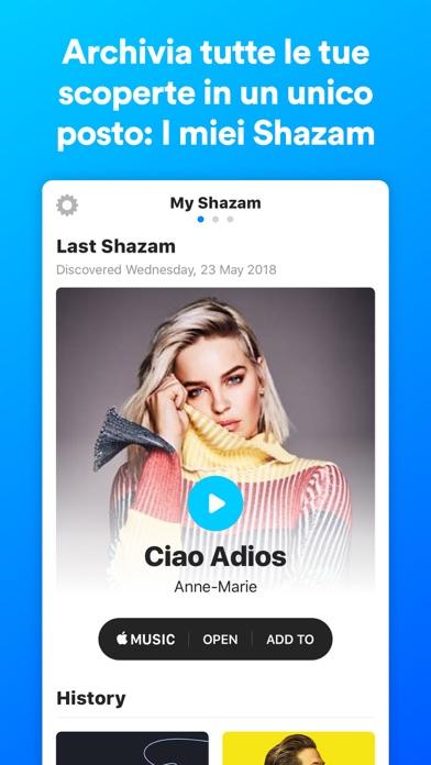 Screenshot for Shazam in Italy App Store