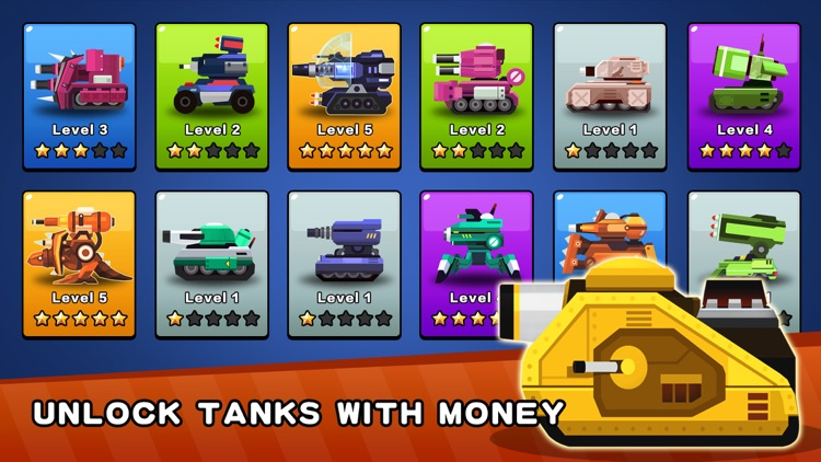 Tank Factory: Idle Miner Games