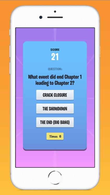 Quiz for Fortnite! screenshot-3