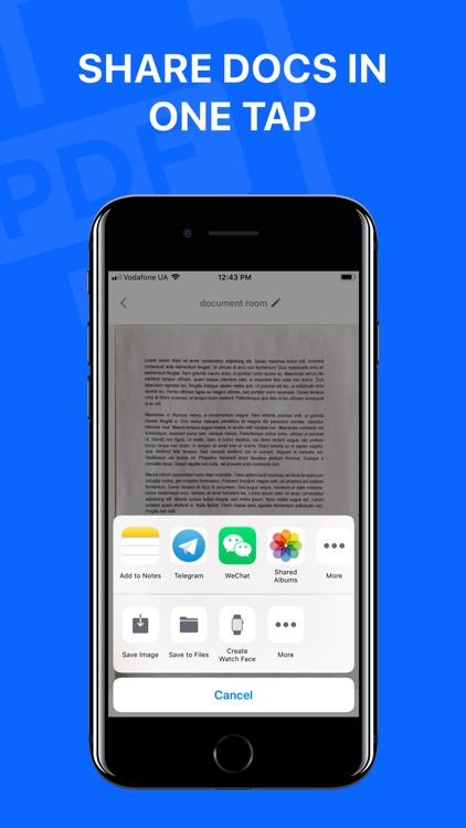 Smart Scanner - Document Scan screenshot-4