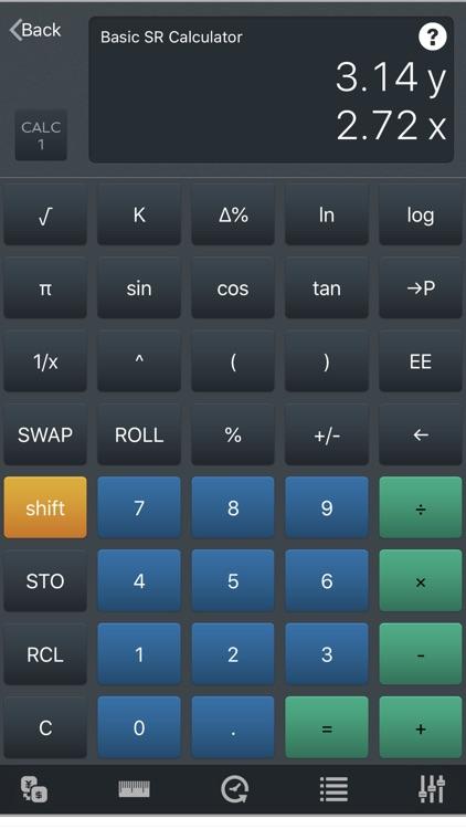 CALC 1 - Multiple Calculators screenshot-0