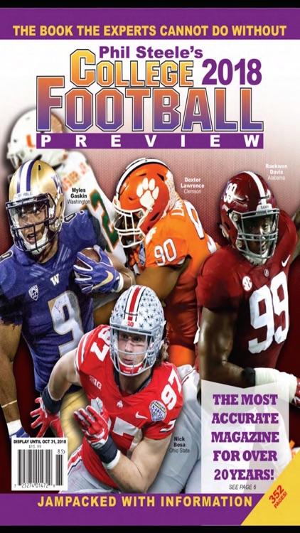 Phil Steele's College Mag