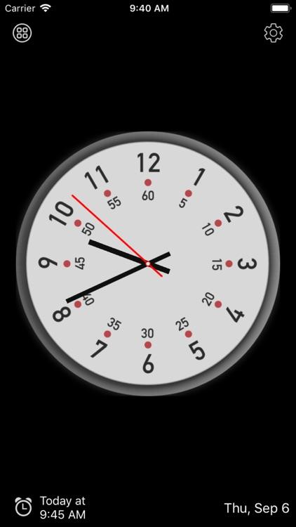 Clock Face - Analog clocks by Huamei Xi