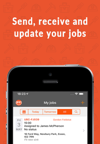 Okappy - Simple Job Management - náhled