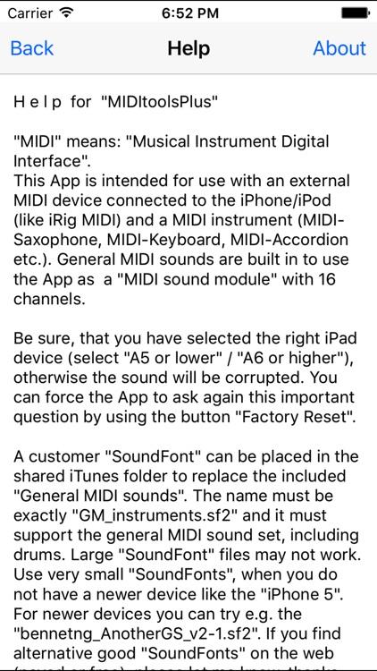 MIDItoolsPlus screenshot-4