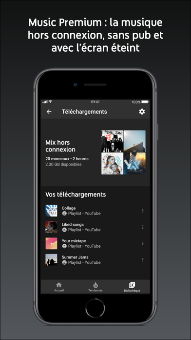 YouTube Music pour Android