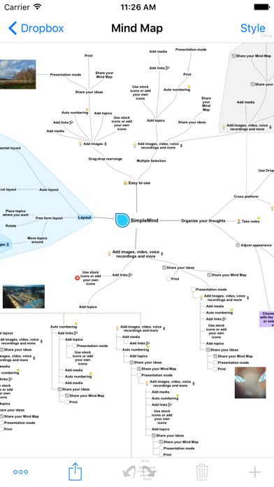 SimpleMind+ 直感的なマインドマッピング ScreenShot2