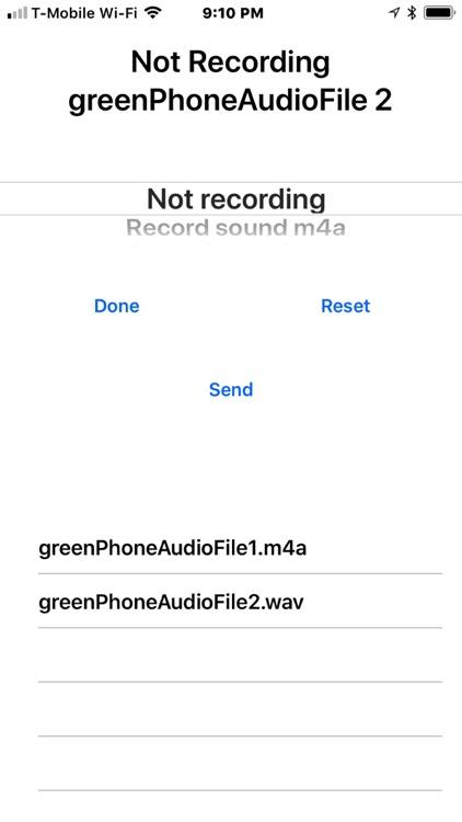 Green Phone screenshot-3