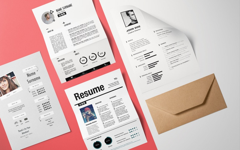 Resume Templates - DesiGN Screenshots