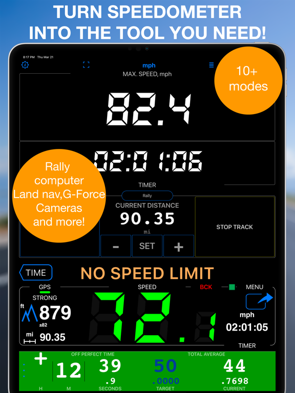 スピードメーター 55 Pro - GPS速度計 ロガー。のおすすめ画像6
