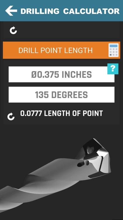 CNC Machinist Calculator Pro screenshot-9