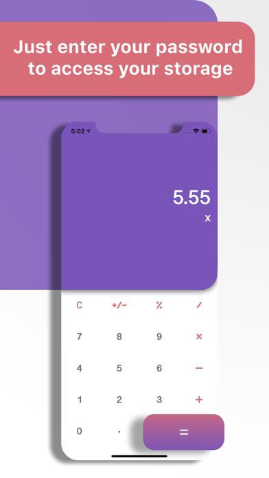 Calculator+ : Hide your secretのおすすめ画像2