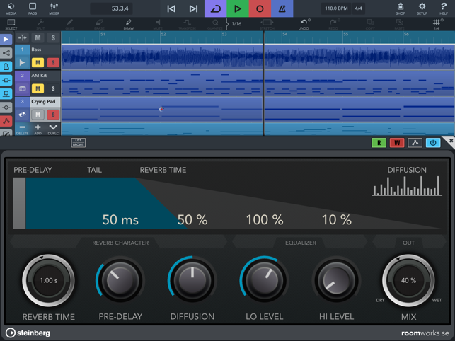 ‎Cubasis 3 - Music Production Screenshot