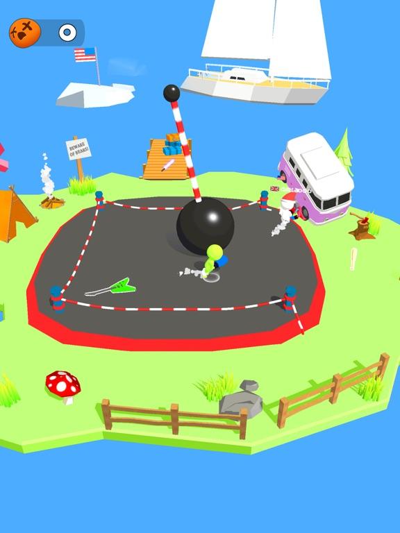 Stickman Boxing Battle 3D screenshot 11