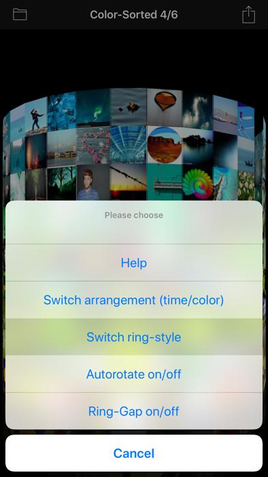 3D Photo Ring - Album Browser Screenshots