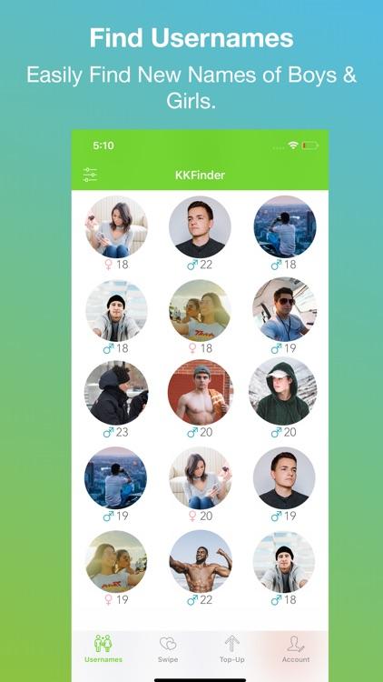 KKFinder - Find Usernames