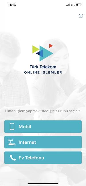 Türk Telekom Online İşlemler App Store'da