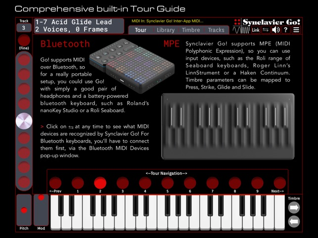 Synclavier Go! App and Plugin Screenshot