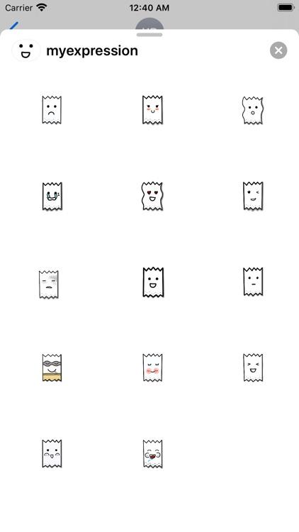 Tissue's emotion Stickers screenshot-3