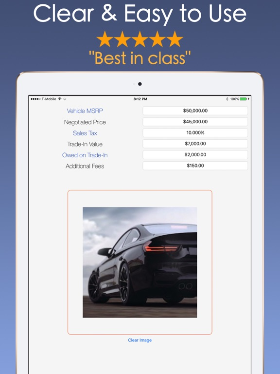 Car Payment Calculator Mobile App Price Drops