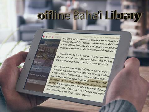 Baha'i Library - One Ocean 4.0 - náhled