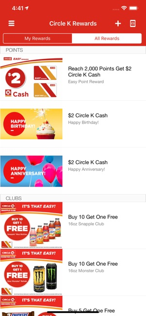 CIRCLE K Rewards on the App Store