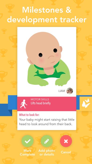Screenshot #3 pour Ovia Parenting & Baby Tracker